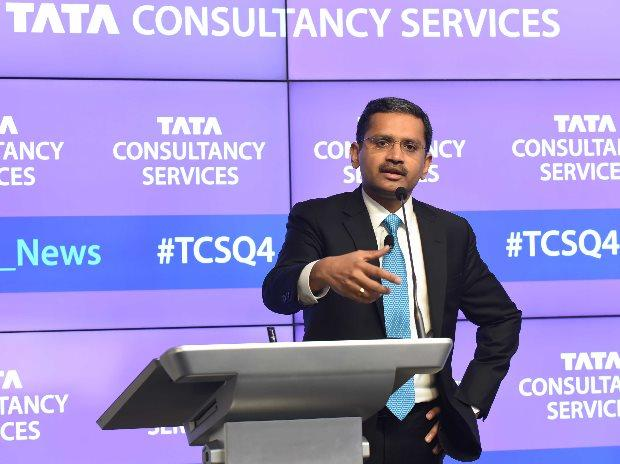 Tata Consultancy Services fourth-quarter profit beats estimates