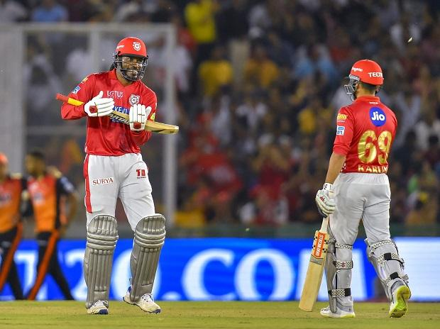 IPL 2018: Gayle's 104 not out powers KXIP to 193/3 against Sunrisers