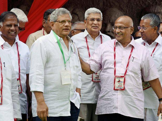 Yechury gets second term, but Karat emerges taller