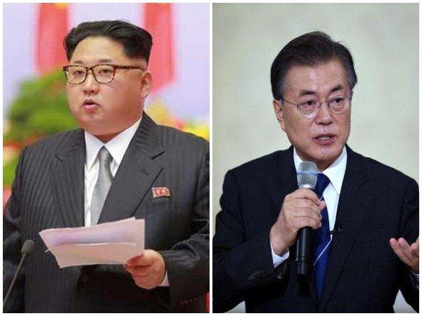 Korean state media reports on inter-Korean summit include expression 'complete denuclearization'