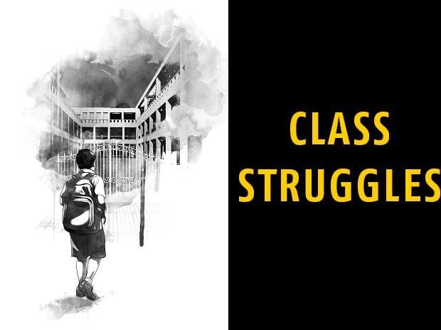 class struggles, right to education