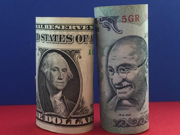 rupee & dollar
