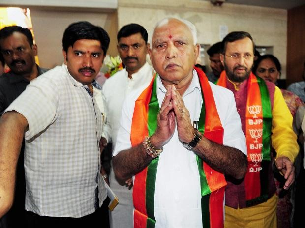 yeddyurappa to be karnataka cm congress dubs guv bjp puppet to