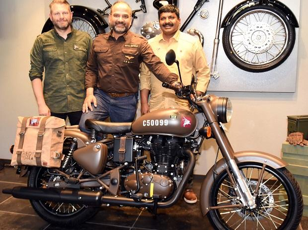 Royal Enfield Classic 500 Pegasus: Launch