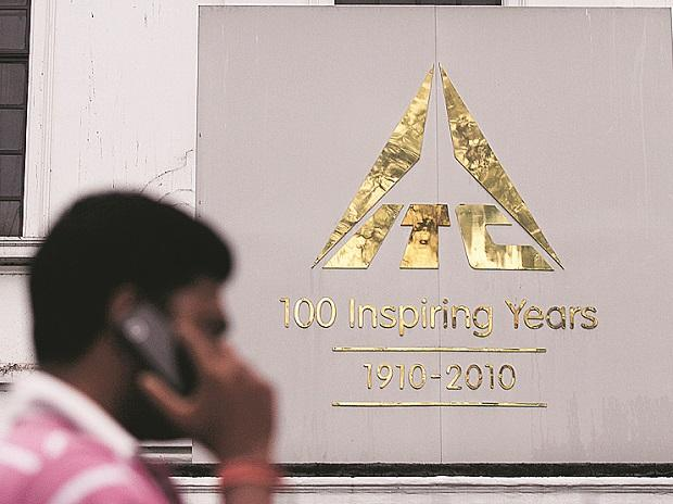 ITC gains 5% in two days on heavy volumes ahead of Q1 results on Friday