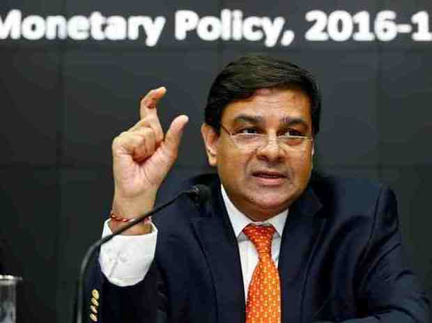 The Reserve Bank of India (RBI) Governor Urjit Patel speaks during a news conference after the bi-monthly monetary policy review in Mumbai
