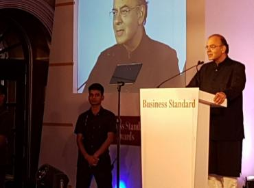 Govt to empower bankers: Arun Jaitley at BS Awards