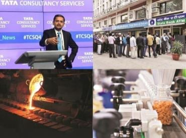 News digest: Battle for Essar Steel, TCS Q4 results, cash crunch, and more