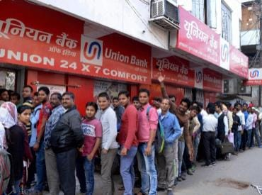 Cash crunch: Over 85% ATMs functioning, deposits increase in banks