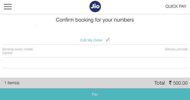 Reliance JioPhone pre-registration begins