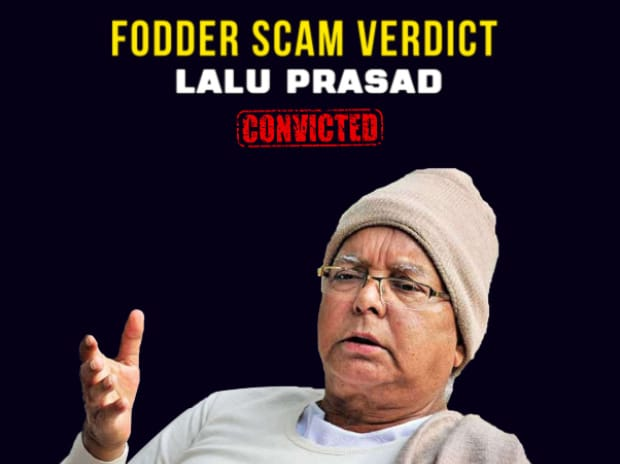Lalu Prasad convicted in fodder scam case