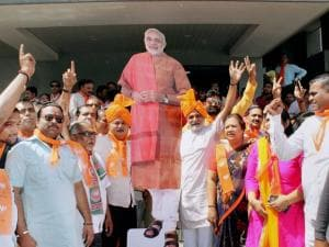 Election Results 2017: BJP paints UP, Uttarakhand saffron before Holi
