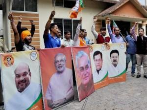 Election Results 2017: BJP paints UP, Uttarakhand saffron before Holi