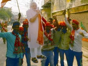 UP phase 7: Varanasi soaks in poll colours