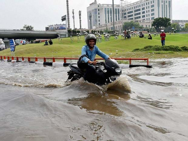 Rains, Delhi, Flood, Roads