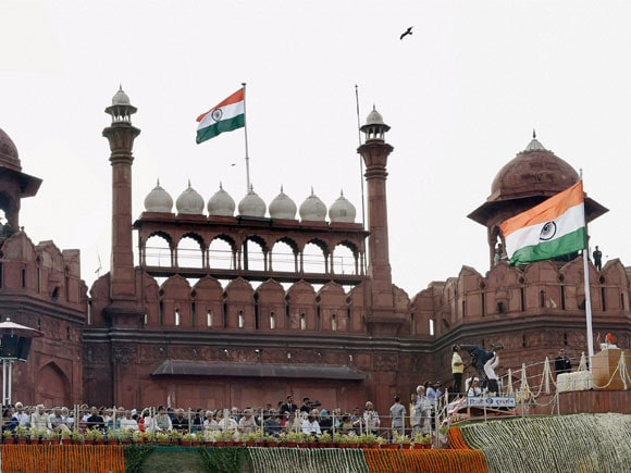 Red Fort, Narendra Modi, Independence Day