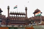 The many colours of Red Fort