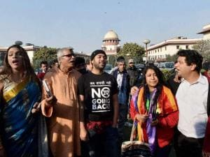 Section 377: Gay rights supporters celebrate
