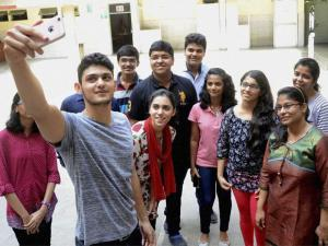 Students celebrate their HSC results
