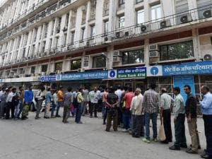 Crowds throng ATMs, banks on Day 4 as well