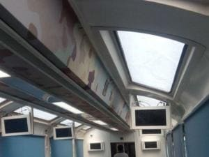 First-ever train with glass roof on Vizag-Araku route