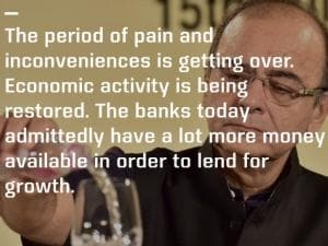 FM Jaitley's top 10 quotes on 2 months of demonetisation