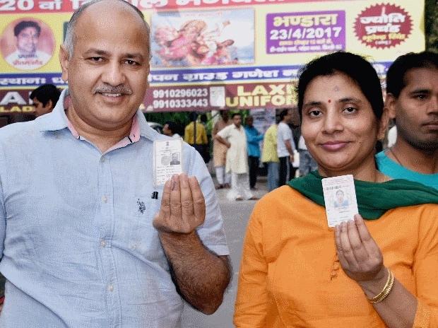MCD, MCD polls, MCD elections, elections, Delhi polls, Delhi elections, Shiela Dixit, Arvind Kejriwal, AAP, Congress, BJP