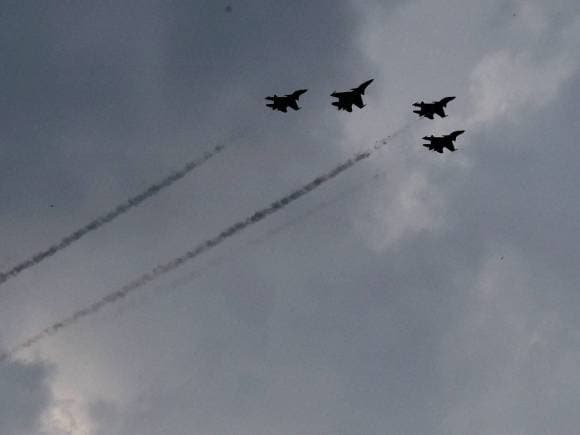 IAF fighter plane, Air show, India Victory, Indo-Pak War of 1965, Amar Jawan, Golden Jubilee