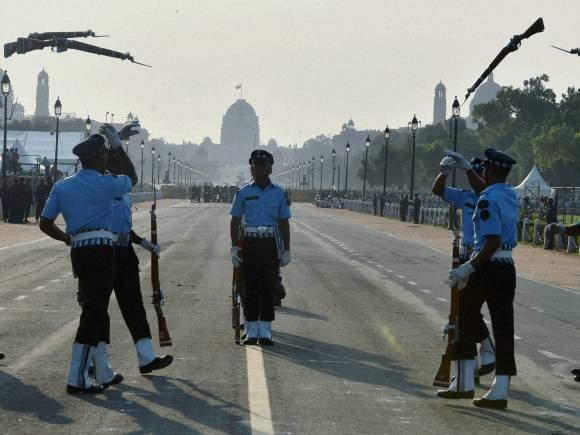 IAF personnel perform, India Victory, Indo-Pak War of 1965, Amar Jawan, Golden Jubilee