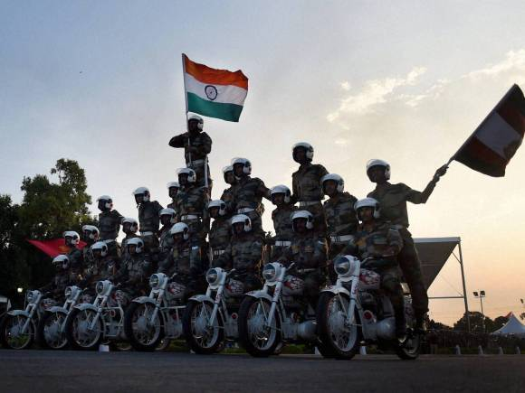 Indian Army perform, India Victory, Indo-Pak War of 1965, Amar Jawan, Golden Jubilee