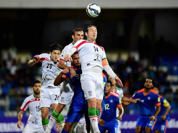 FIFA World Cup, India vs Iran, 2018 World Cup qualifier team, Iran won the match by 3-0, Iran won, Jalal Hosseini, Kanteerava Stadium, Bengaluru