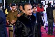 Reliance ADAG Chairman Anil Ambani attends a function