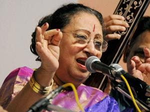 Eminent Hindustani Classical Music vocalist Begum Parveen Sultan performs