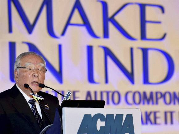 55th ACMA Annual Session, Suzuki Motor Corporation Chairman & CEO, Osamu Suzuki, ACMA President, Ramesh Suri