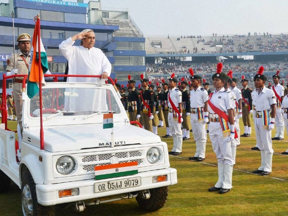 66th Republic day ,66th Republic Day celebration in India, Chief Minister Naveen Patnaik