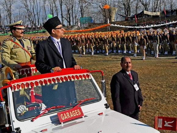 66th Republic day ,66th Republic Day celebration in India,  Divisional Commissioner Kashmir, Rohit Kansal