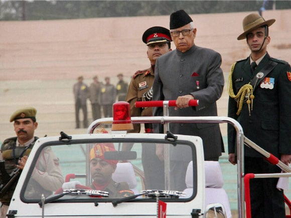 66th Republic day ,66th Republic Day, Jammu and Kashmir Governor N N Vohra