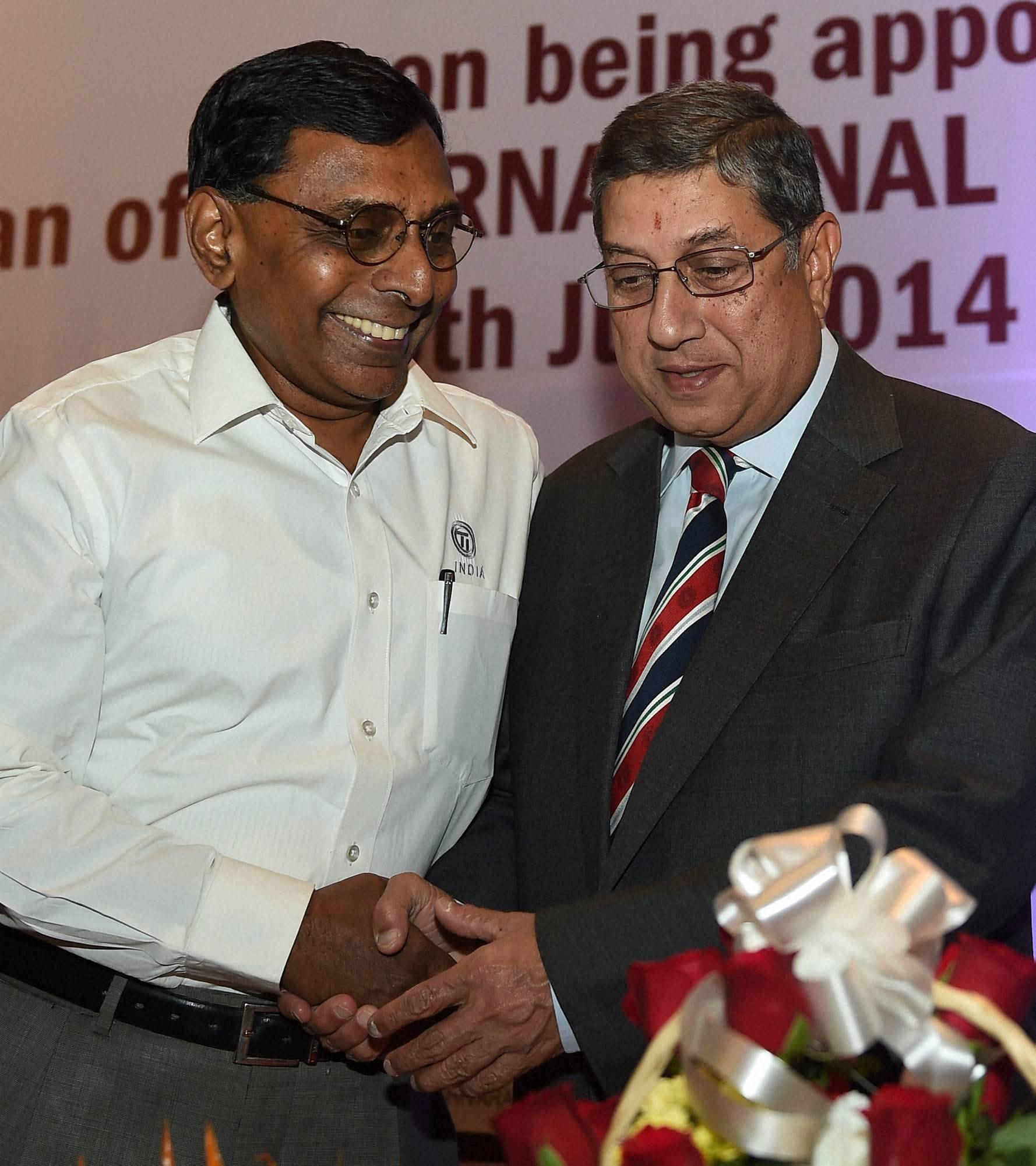 International Cricket Council (ICC), Chairman, N Srinivasan, greeted, Murugappa group, Executive Chairman, A.Vellayan, MMA, MCCI, clubs, Chennai