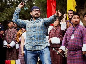 Aamir Khan during his visit to advocate against malnutrition in Bhutan