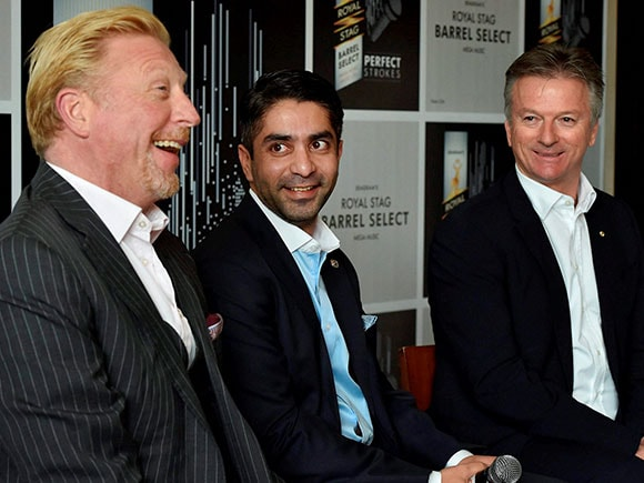Royal Stag, Abhinav Bindra, Steve Waugh, Boris Becker, Ryan Giggs, Barrel Select