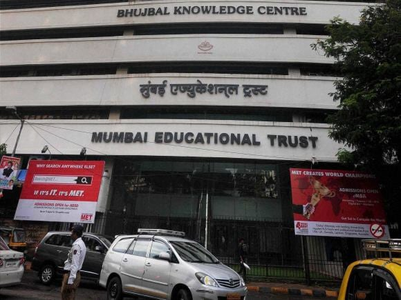Mumbai Educational Trust, Bhujbal Knowledge Centre, Chhagan Bhujbal, Bhujbal, NCP, Anti-Corruption Bureau, ACB, Mumbai