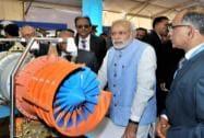Prime Minister Narendra Modi visits Aero India 2015