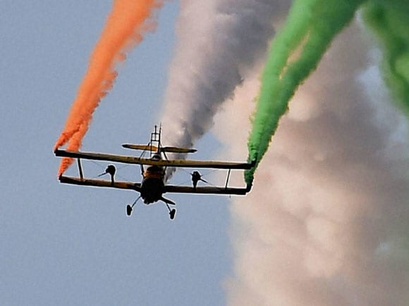 Aero India, Red bull, Aircraft land, Scandinavian Air Show, Indian helicopters, Yelahanka, Bengaluru