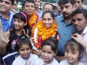 Dipa Karmakar has become the first Indian woman gymnast to qualify for Olympics