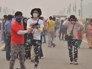 After Diwali, Delhi covered in smog blanket