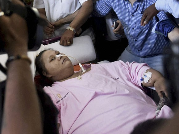 Eman Ahmed, world's heaviest woman, Saifee Hospital, weight-reduction