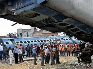 Aftermath of Utkal derailment