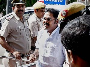 AIADMK leader TTV Dinakaran being produced in Tis Hazari court