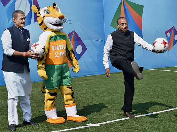 FIFA, U-17 FIFA world cup 2017, AIFF, Vijay Goyal, Praful Patel
