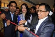 Bollywood actress Aishwarya Rai Bachchan inaugurates a jewellery showroom